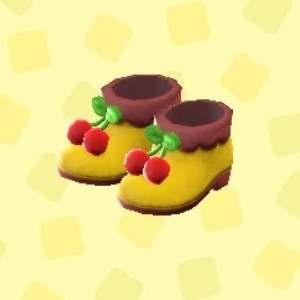 ポムポムプリンなブーツ
