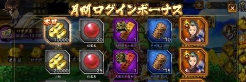 月間ログインボーナス (2)