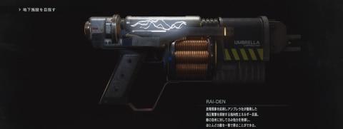 RAIDENの入手方法と性能