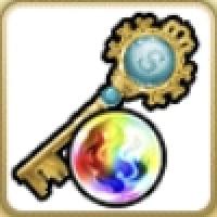 虹と鍵のコラボレーション