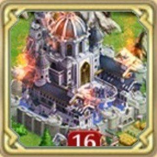 城が燃やされた