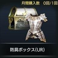 防具ボックス(UR)