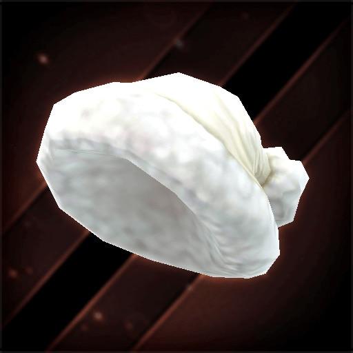 白雪のドリームキャップ