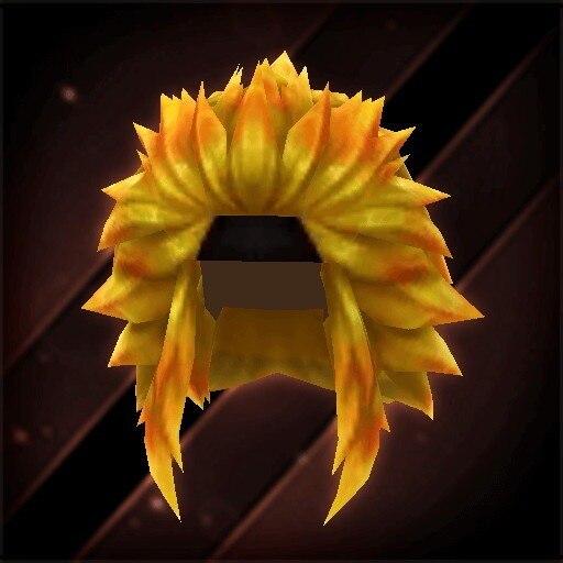 黄金の獅子ヘアー