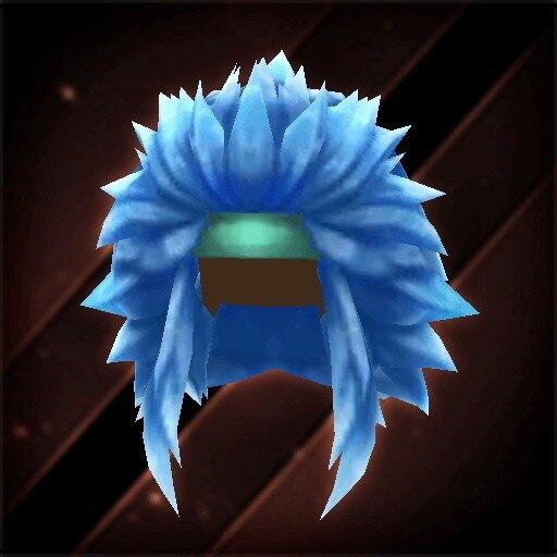 深青の獅子ヘアー