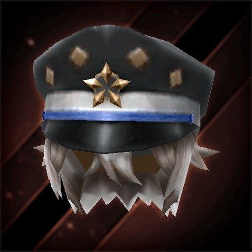 星印書生帽子・漆黒