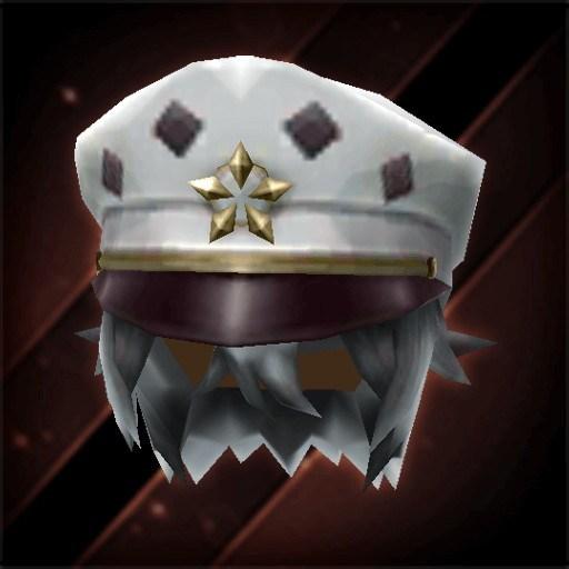 星印書生帽子・月白