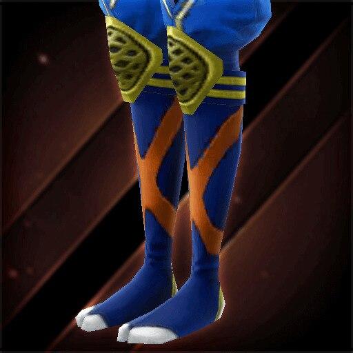 藍染忍脚絆