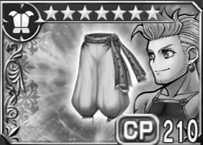 マッシュのズボン