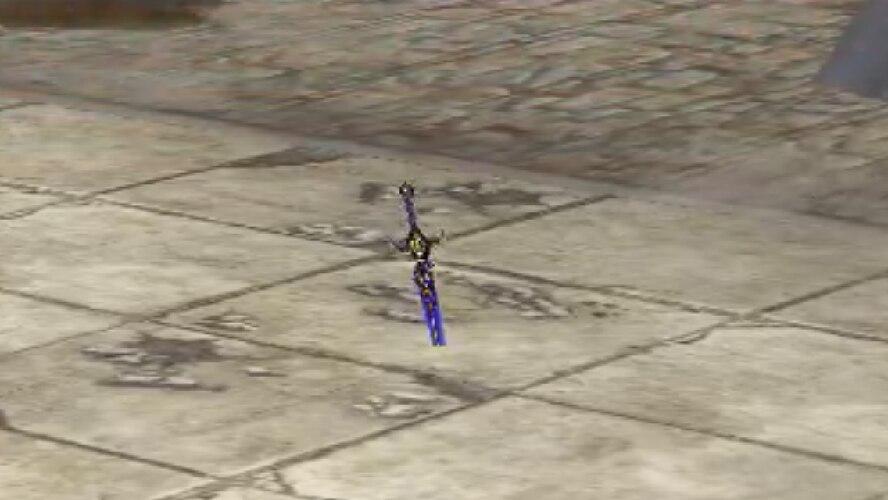 暗黒の剣 ズーム