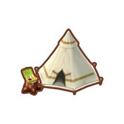 はじめのテント