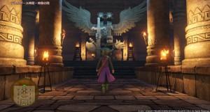 デルカダール神殿・神像の間