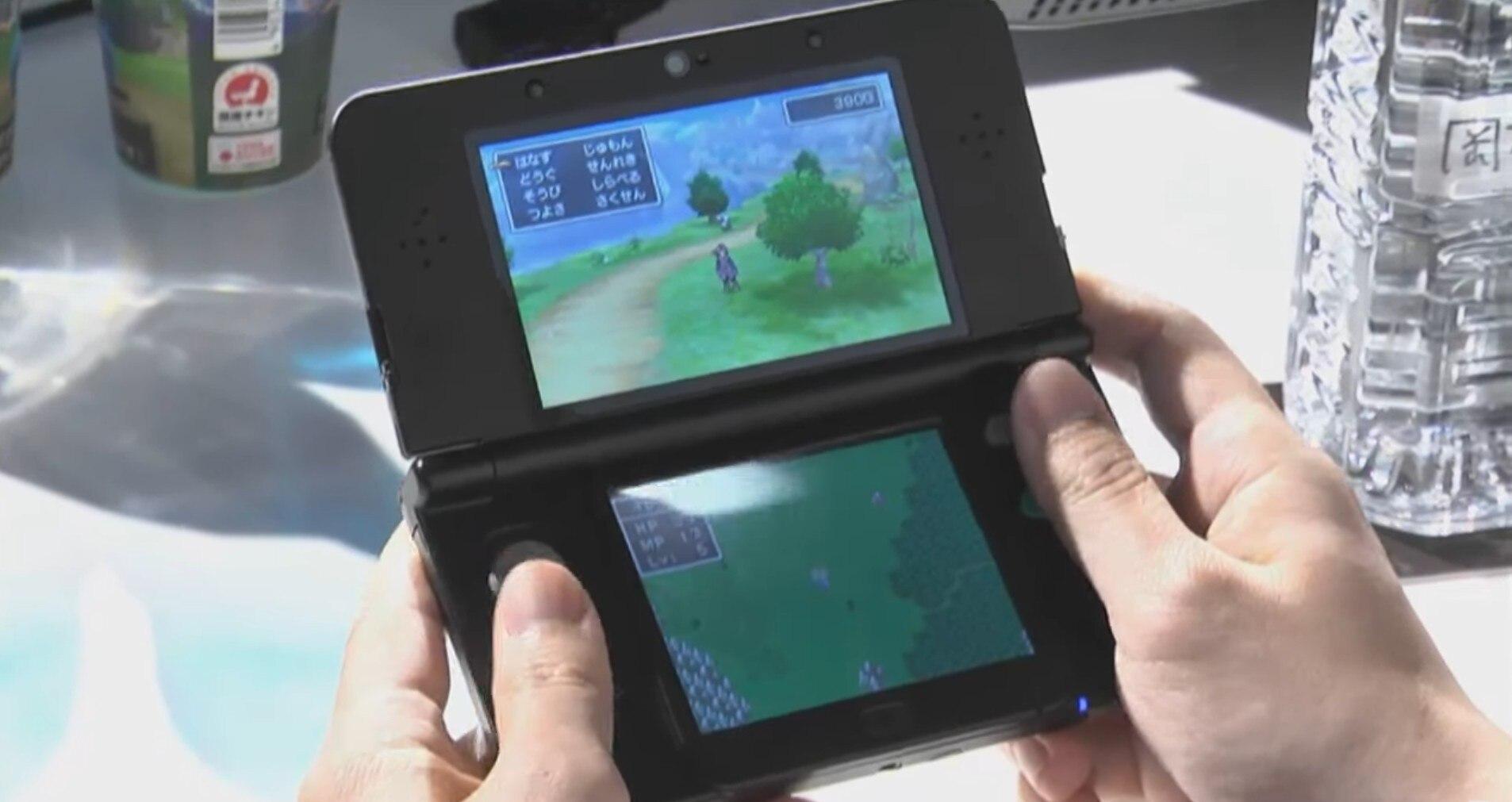 3DS実機プレイ