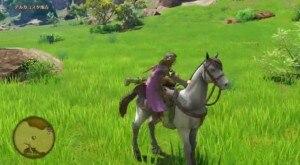 馬に乗れる
