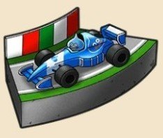 サーキットの模型