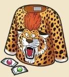 ヒョウ柄のシャツ