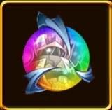 グラヴィオールの虹色オーブ