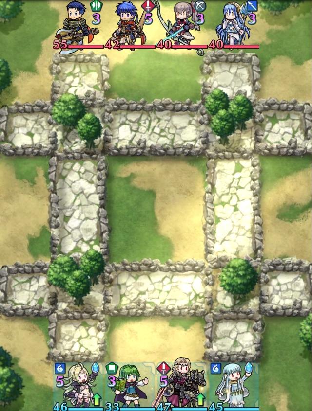 草原マップ(防御地形あり)