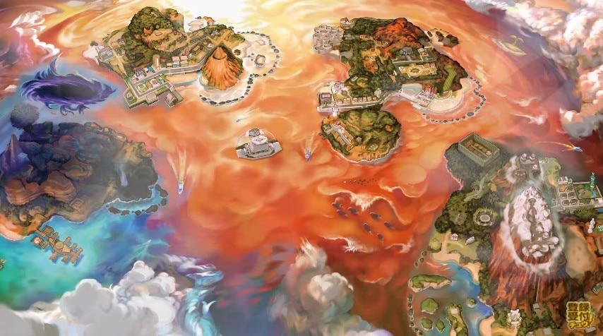 新アローラ地方マップ