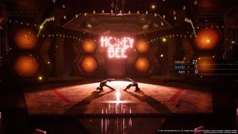 ダンス 終了画面