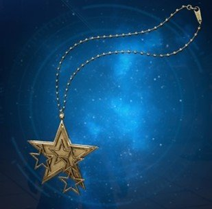 星のペンダント
