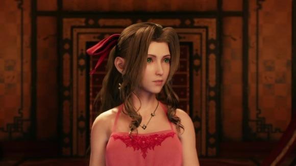 エアリス濃ピンクドレス