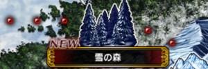 雪の森【探索マップ/隠し通路/宝箱/クエスト】