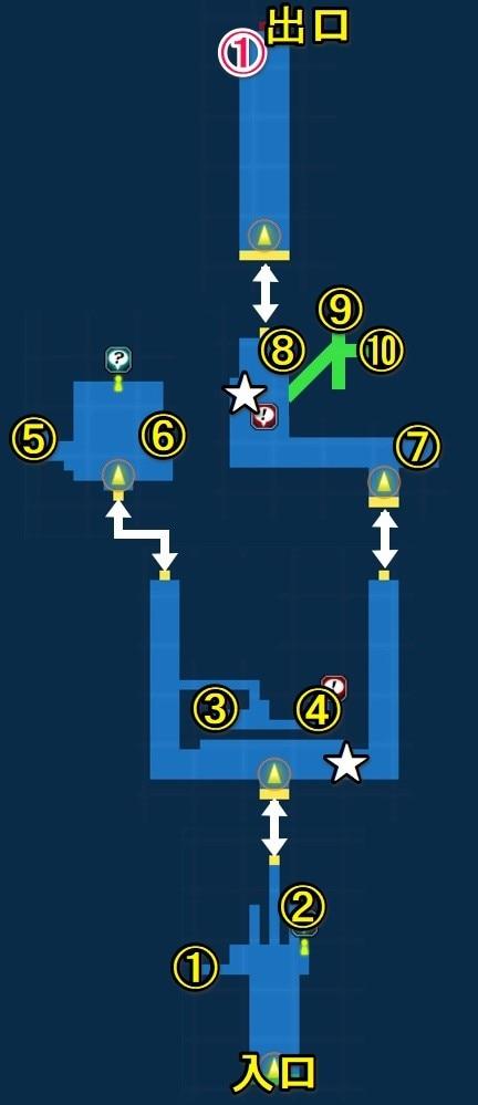 魔導兵器開発施設宝箱マップ