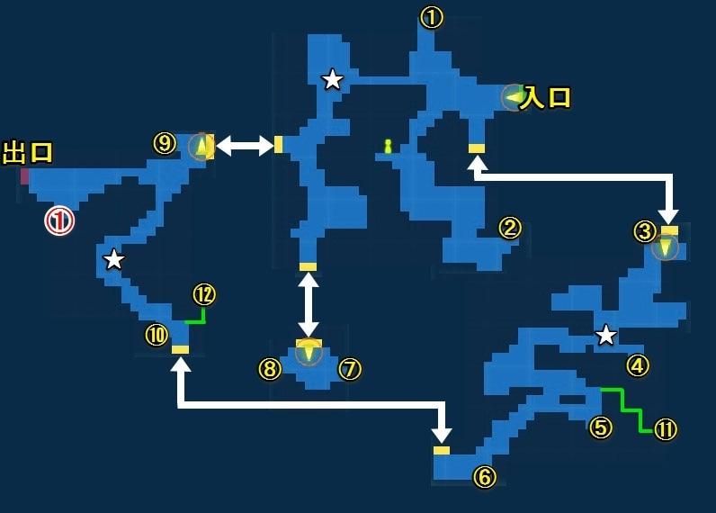 氷穴 マップ画像