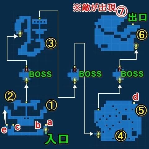 ミシディアの塔・探索マップ