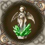祈りの天使像・翠