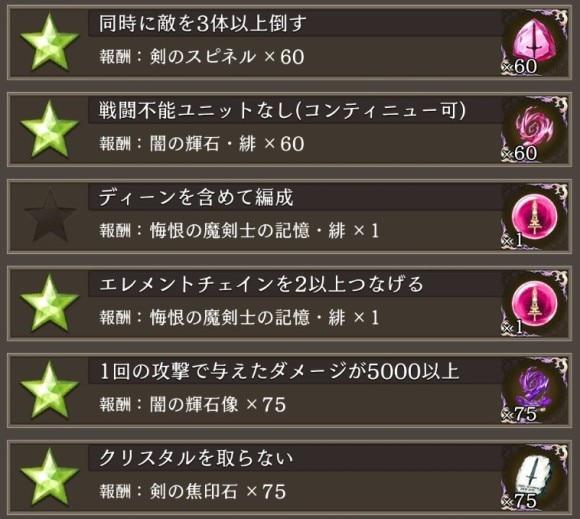 黒衣の魔剣士ミッション