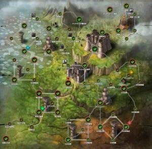 戦場をかける王女後編MAP