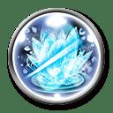 連続魔法剣・凍芯