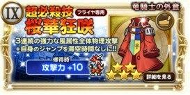 竜騎士の外套(スタイナー専用武器)
