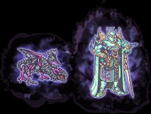 【凶】シールドドラゴン&エクスデスソウル