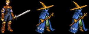 アルガス&黒魔道士