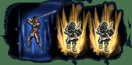 ウォースラ&帝国軍剣士