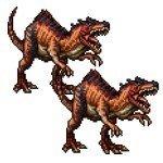密林の古代竜