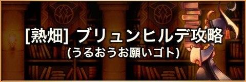 【熟畑】ふぃーばーしゅうかく(ブリュンヒルデ)の攻略とおすすめパーティ