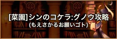 【菜園】ふぃーばーしゅうかく(シンのコケラ:グノウ)の攻略とおすすめパーティ
