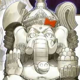 大いなる石像神