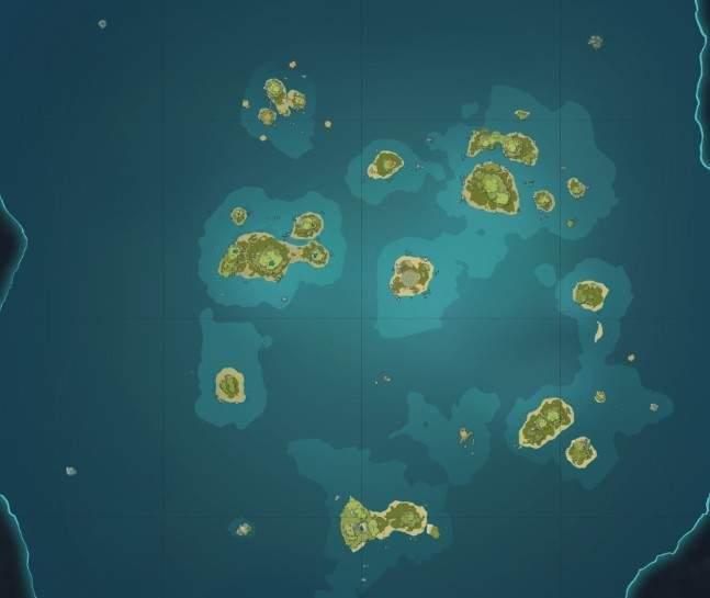 金リンゴ群島マップ
