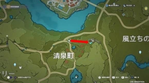 モンドの地霊壇マップ6