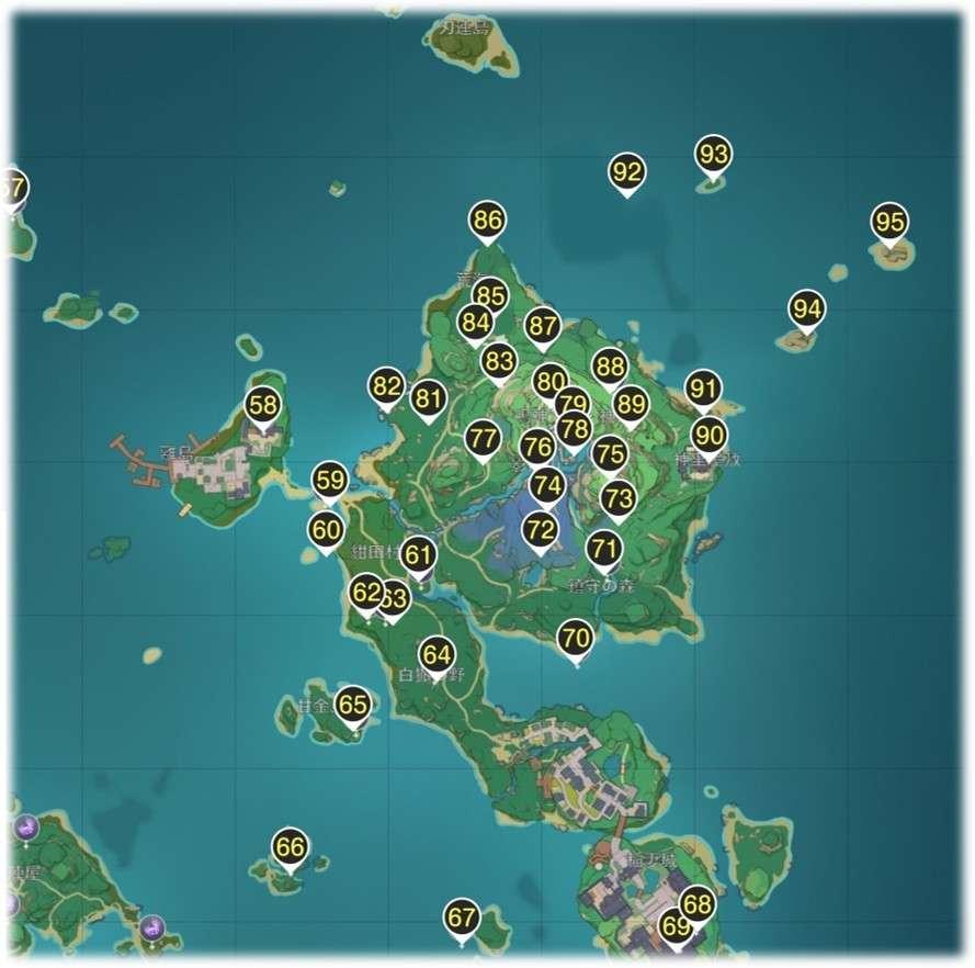 鳴神島の雷神の瞳