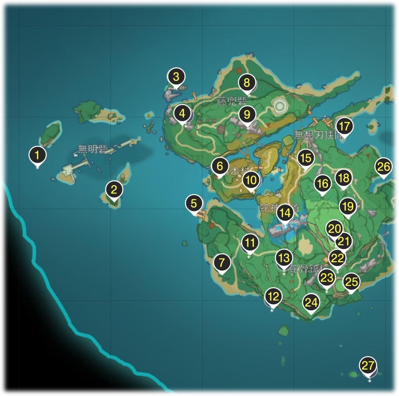 ヤシオリ島の雷神の瞳
