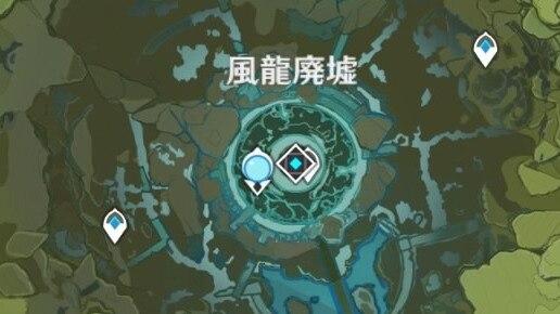 七天神像 風龍廃墟