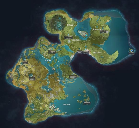 秘境マップ