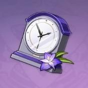 守護の置き時計