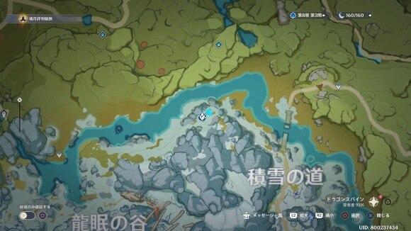 雪の森 マップ